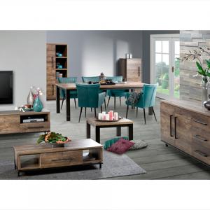 Tv meubel tv kast teak alle soorten en maten for Complete meubelset