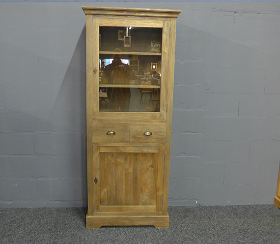 Display Cabinet Rustic Teak Wood   The Largest Collection Of Low Cost  Products At Wakefield XL Cabinets