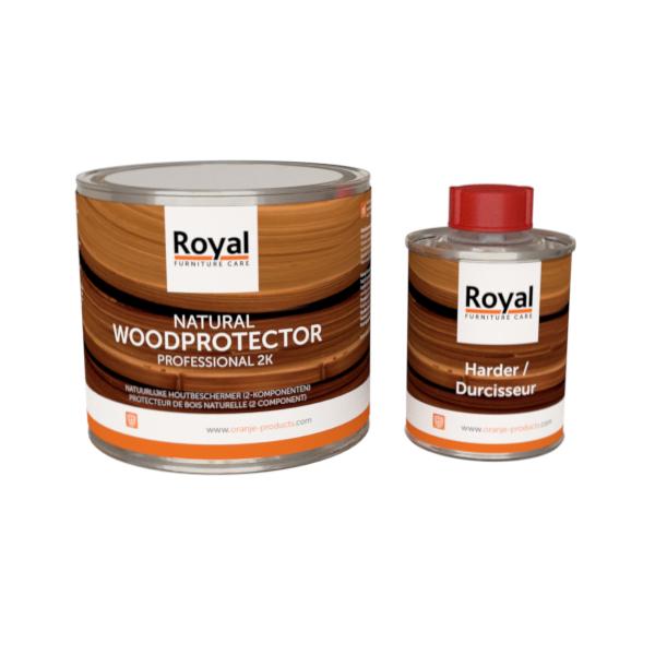 Natuurlijke houtbeschermer - Oranje - Hout onderhoudsmiddel