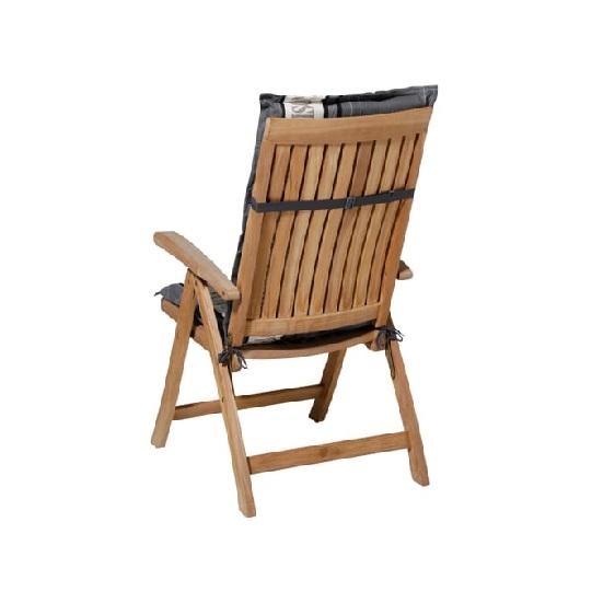 Tuinstoel Garden Grey incl stoel achterkant