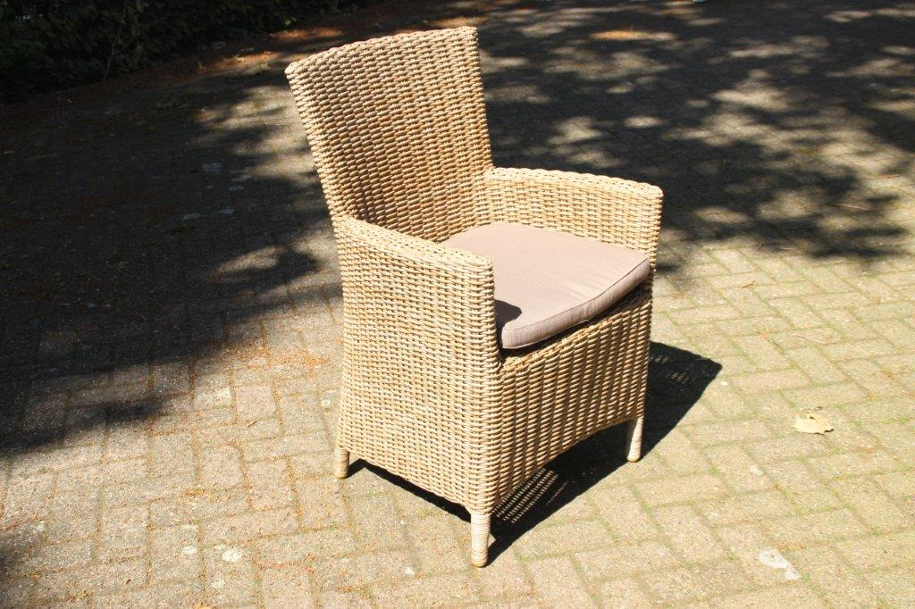 Tuinstoel Capri Highback Wicker