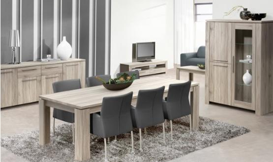 Complete woonkamer saga voor 899 wiegersxl - Moderne entree meubels ...