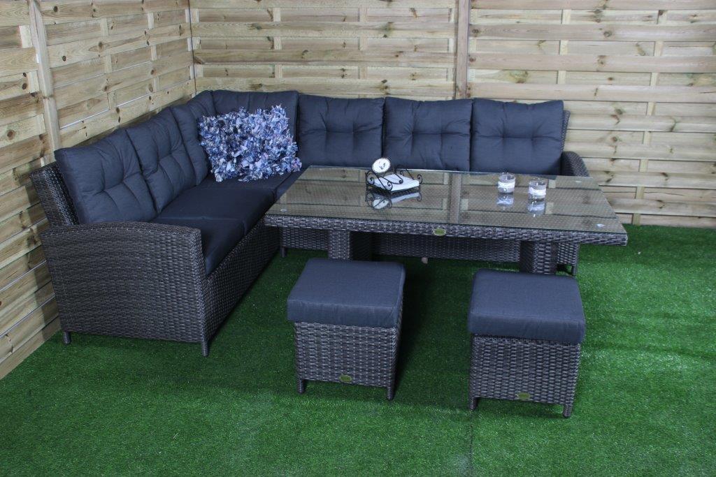 Lounge Set San Marino - hochwertigen Gartenmöbeln - Wiegers XL