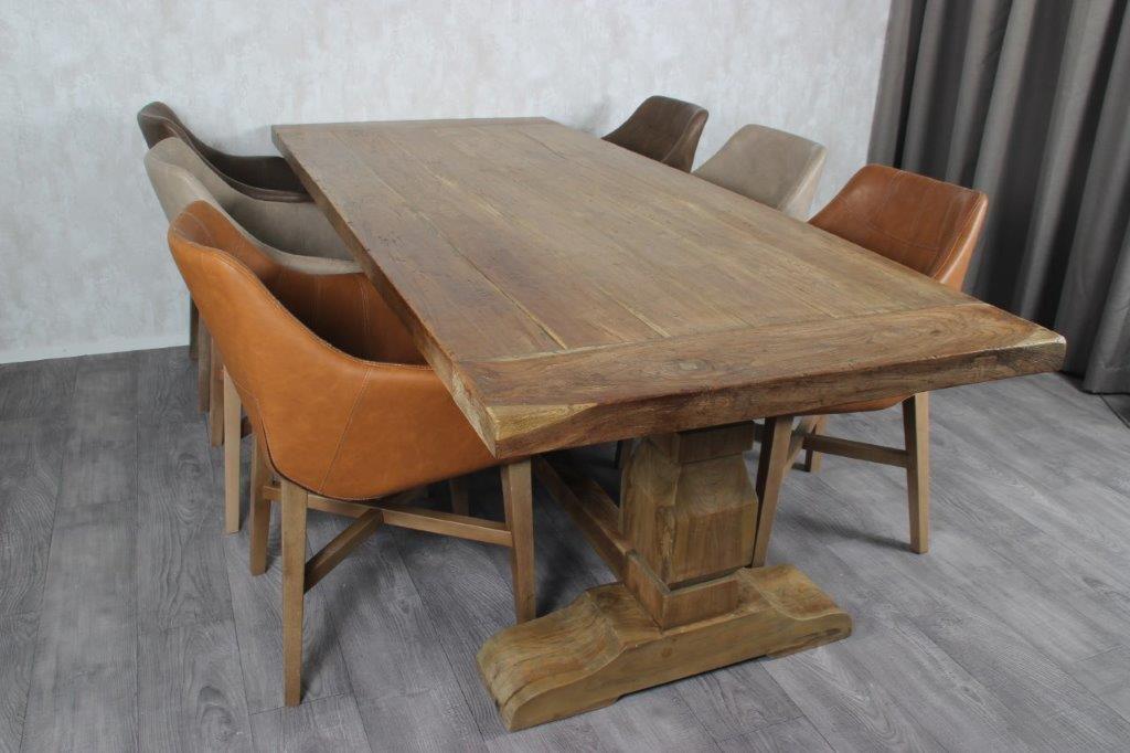 ... Kloster Tisch Teak Holz ...