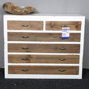 Jessie alten Scotch Kommode Teak Holz