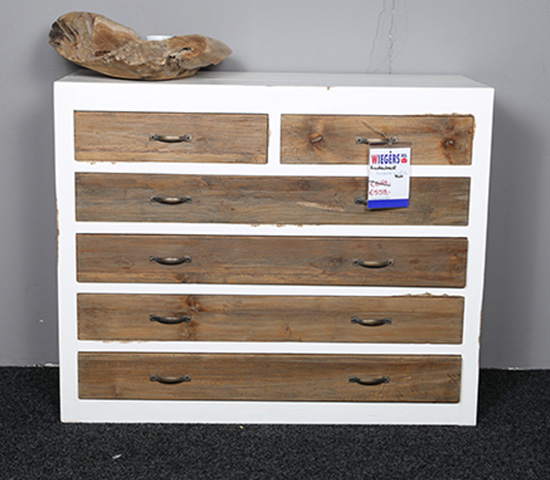 Ladenkast Evianne Old Scotch Teak Hout