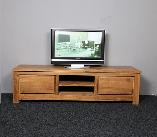 Off White Tv Meubel.Tv Kast Heny Met Gerecycled Teakhout