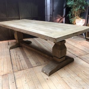 Monastery table NWD teak Wakefield XL