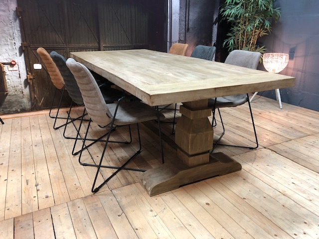 kloostertafel met mx sofa stoelen