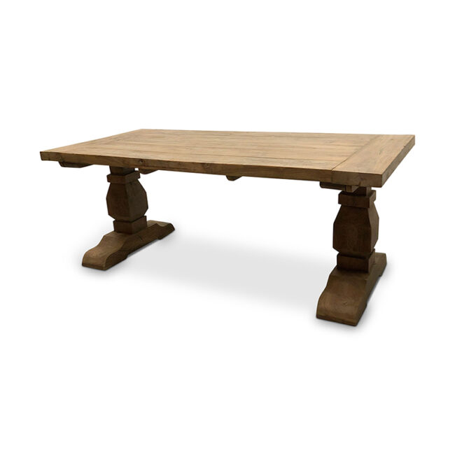 Kloostertafel - Oud Teakhout Outdoor 200 cm - WGXL Collection