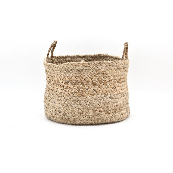 Basket Jute Natural By Boo