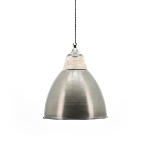 By Boo lamp Grand Zink/Hout