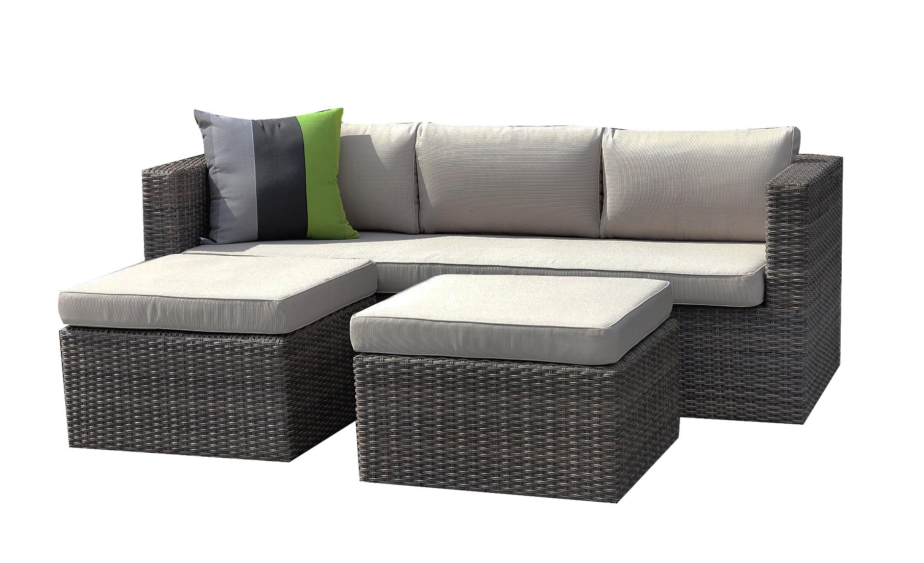 Bari-Lounge-Set - Billige Gartenmöbel - Gute Qualität