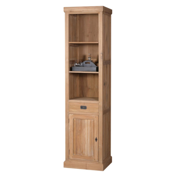 Bookcase cabinet old teakwood