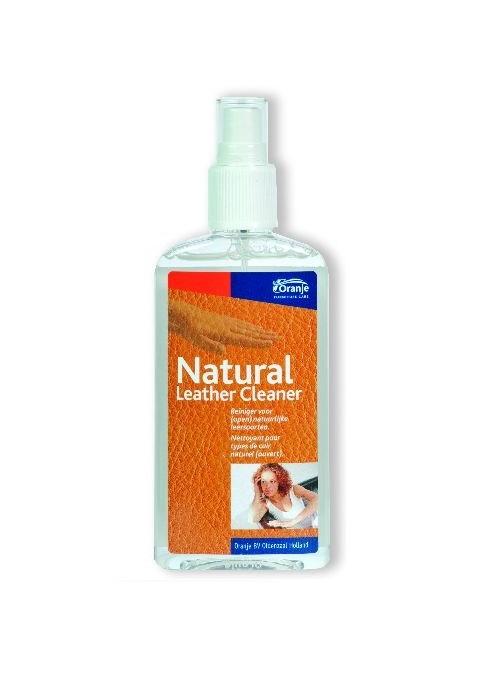Natuurlijke Leder reiniger van Oranje