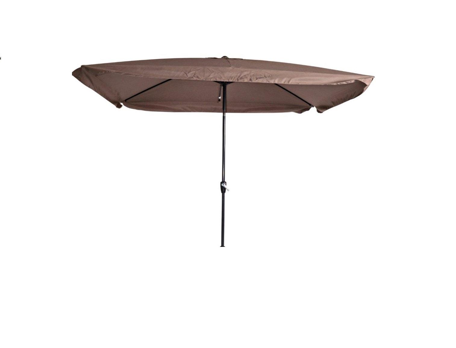 parasol libra taupe 2x3 stokparasols zweefparasols. Black Bedroom Furniture Sets. Home Design Ideas