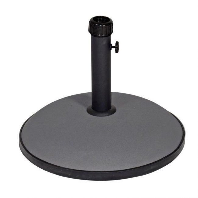 Parasolvoet beton grijs 30 KG