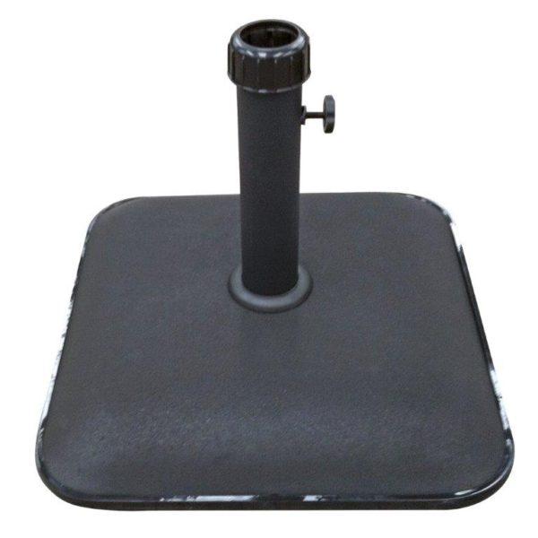 Parasolvoet beton zwart 25KG
