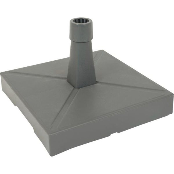 Parasol base plastic with concrete anthracite 30 KG