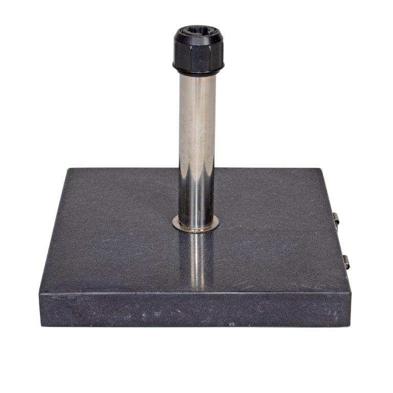 Sonnenschirm Sockel aus Marmor Anthrazit 35 KG