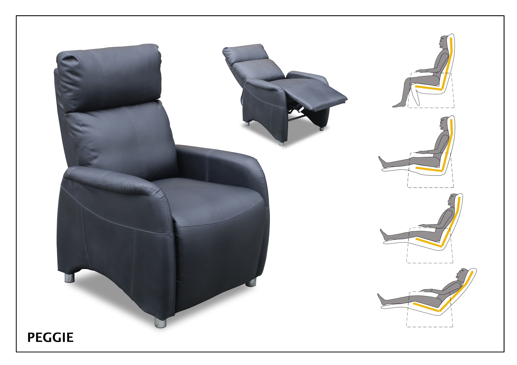 Relax fauteuil Peggie