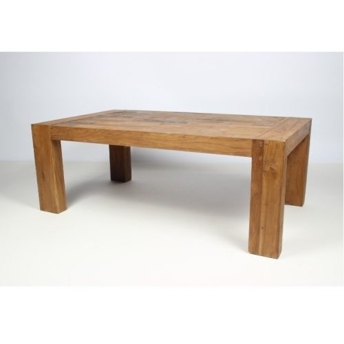 Coffee table Boris old teak wood