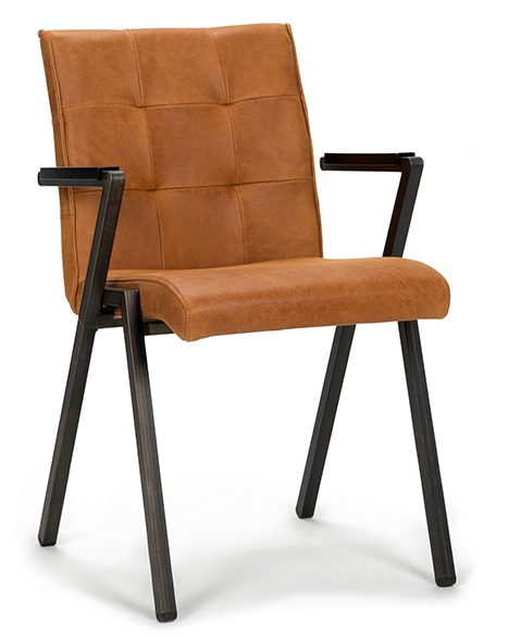 Dining room armchair Carlo with quality upholstery - Wiegers XL
