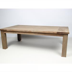 Ancienne table basse en bois de teck