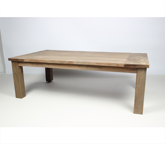 Old teak wooden coffee table