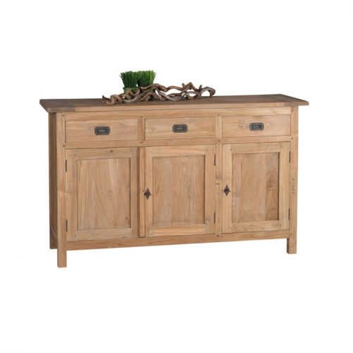 Sideboard old teakwood 3 door
