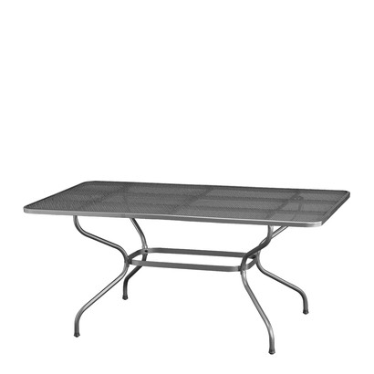 Kettler garden table stretch metal 160x90