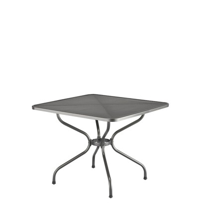 Table de jardin Kettler stretch metal 90 x 90