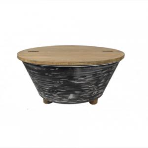 Salontafel zwart openklapbaar