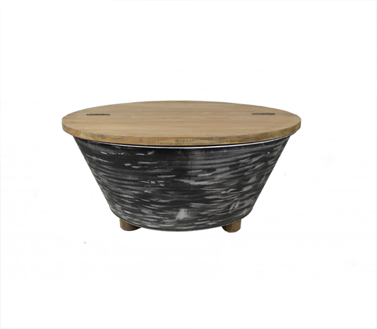 Coffee table black foldable