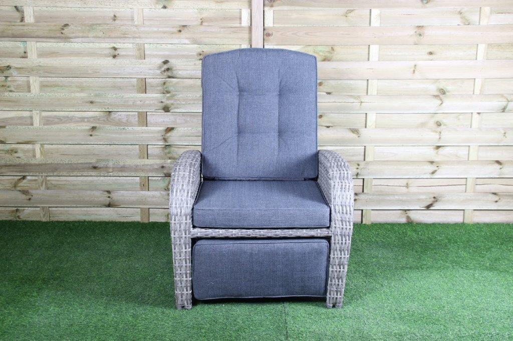 Lounge Chair Casablanca inclusief rug/zitkussen