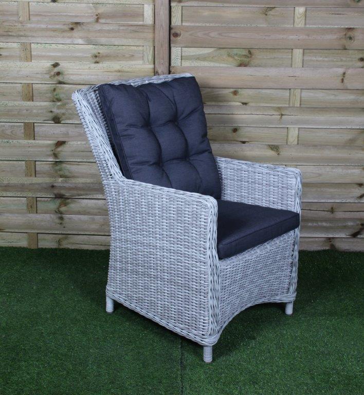 Gartenstuhl Ponte Weiß Grau   Produkte An Den Schönsten Gartenmöbel  Wakefield XL In Asten!