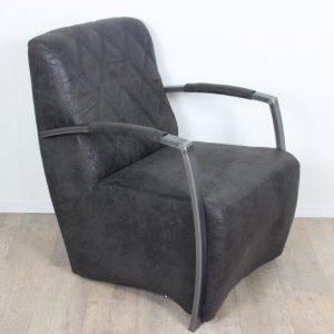 Danny fauteuil Gobi 97 Antraciet