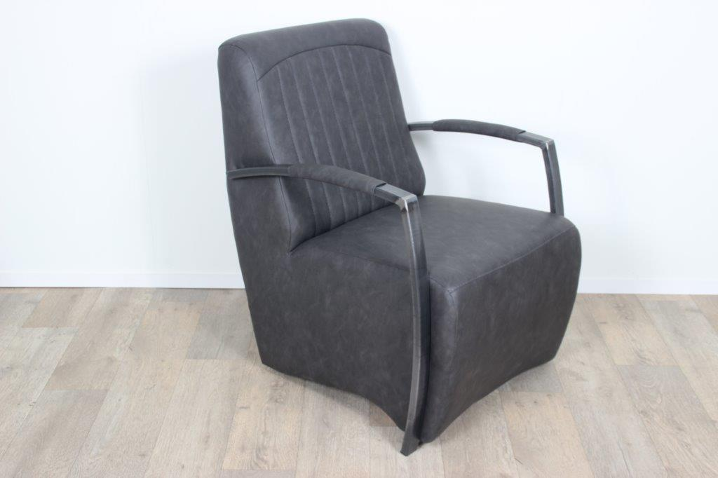 Fauteuil Relax Leer.Rene Armchair Made Of Various Fabrics And Available From Stock