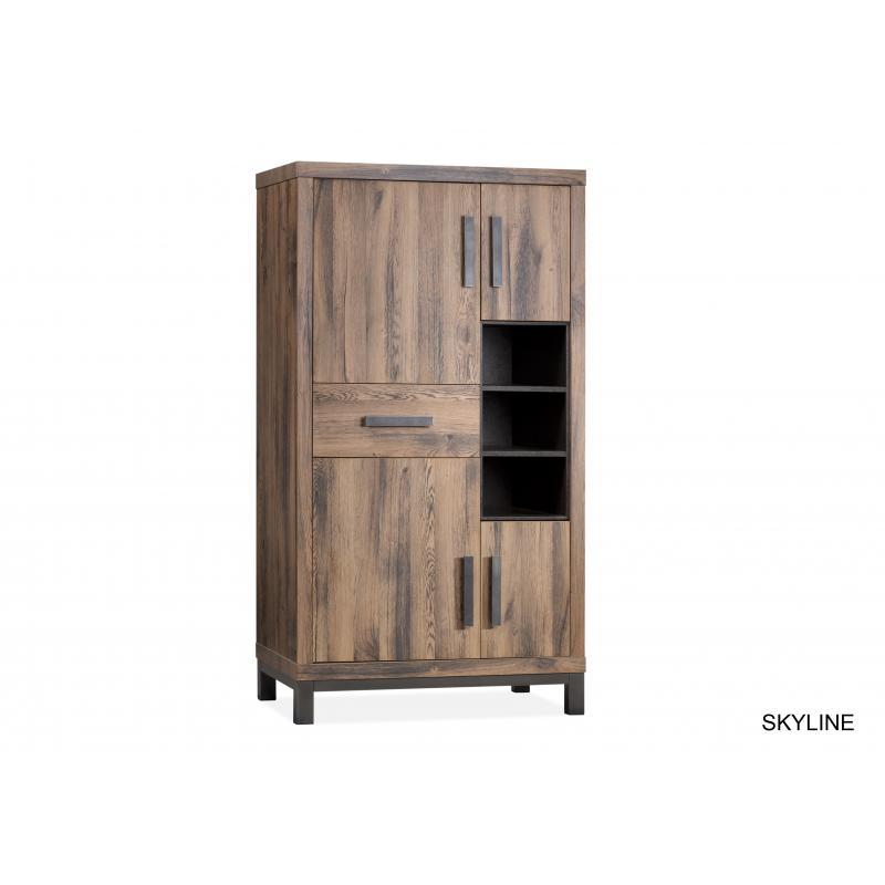 Opbergkast Skyline - Prachtig betaalbaar meubelstuk passend in elke ...