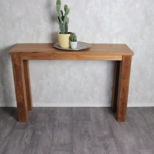 Teak wood side table, Pilot 3