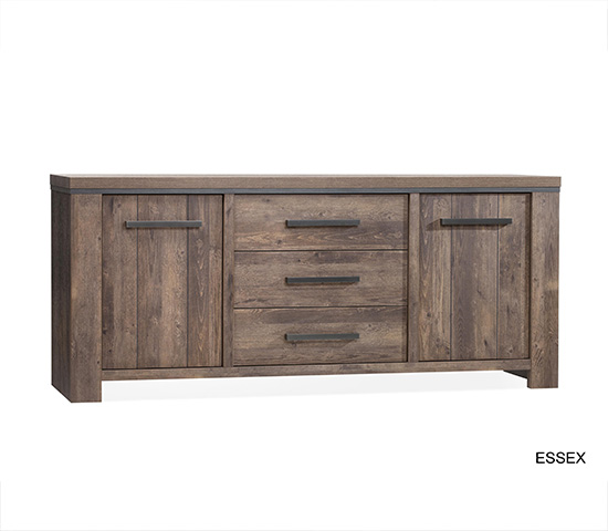 Groot Dressoir Essex Lamulux
