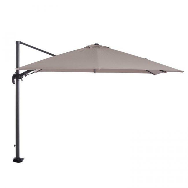 Hawaii parasol 300x300 Carbon Black -Taupe Garden Impressions