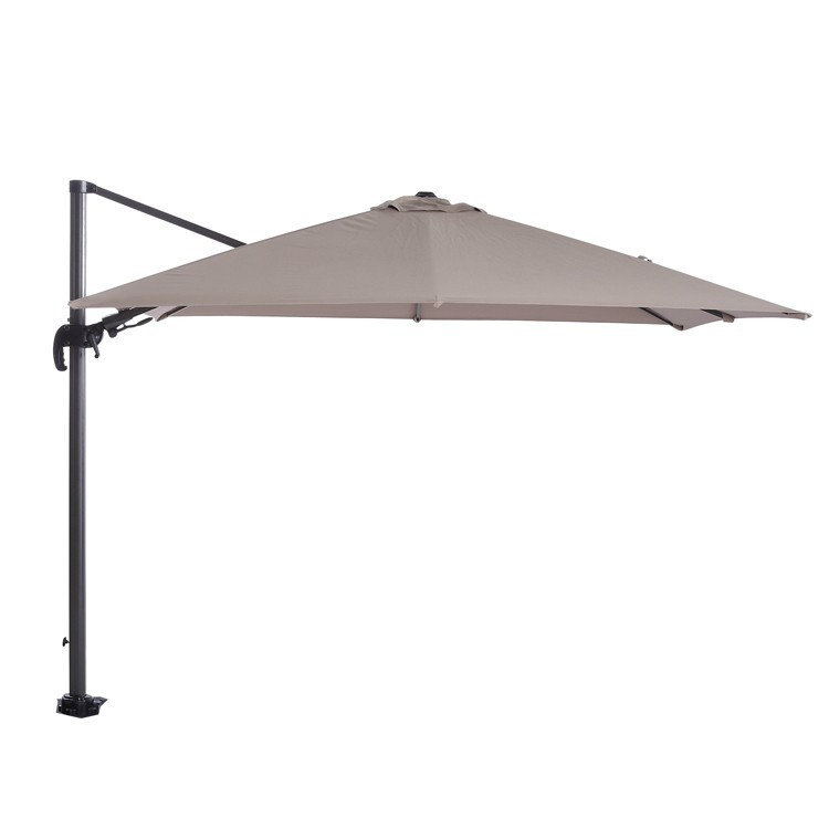 Hawaii parasol 300x300 Carbon Black -Taupe Garden Impressions