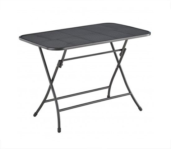 Kettler folding table stretch metal 110x70