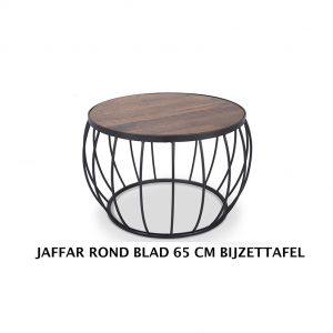 Jaffar salontafel rond industrieel