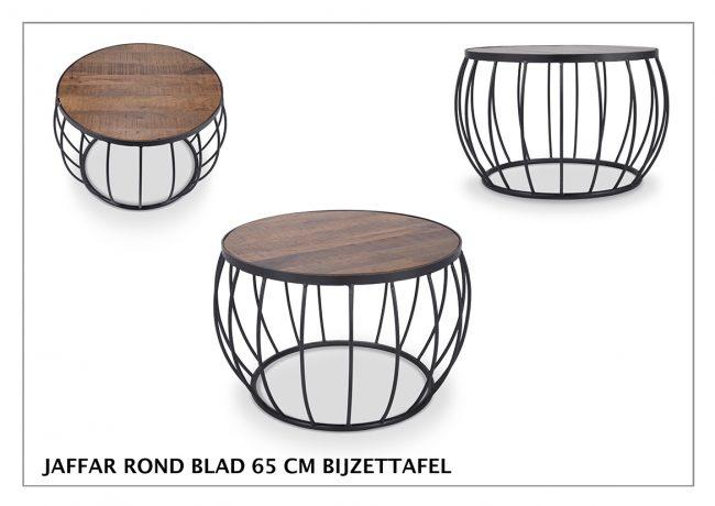 Salontafel Jaffar | Industriële meubelen voorradig & gratis thuis bezorgd | Wiegers XL
