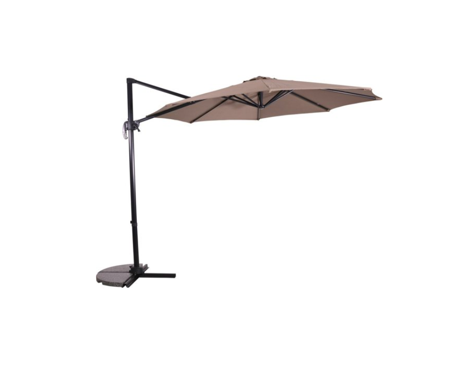 Zweefparasol Virgo Taupe For Your Garden In Stock Wiegersxl