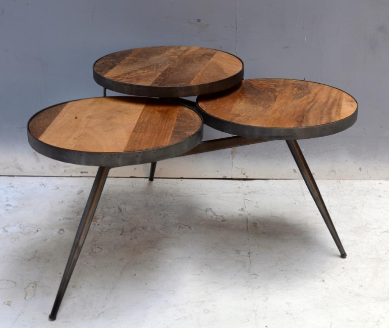 Table Basse En Fer.Salontafel Iron