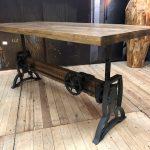Turn tafel in hoogte verstelbaar Maxfurn Wiegers XL mxsofa topteak dealer