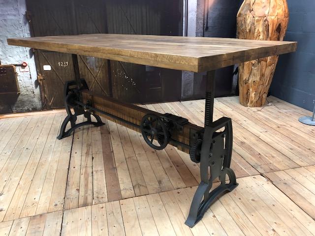 Industriele Tafel Goedkoop : Dining room table turn maxfurn mxsofa height adjustable best rates